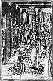 Presentation_page_Recuyell_of_the_Historyes_of_Troye_Chaucer_Margaret_of_York