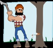 lumberjack-by-tzunghaor-a-lumberjack-cutting-a-tree-PqPJLe-clipart